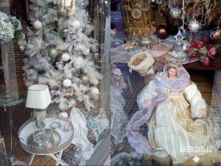 Χριστουγεννιάτικες βιτρίνες στην Αθήνα – Βουκουρεστίου και Σκουφά