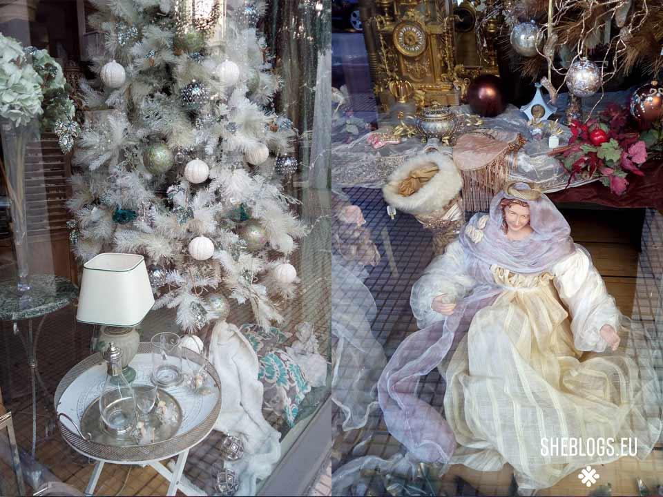 Χριστουγεννιάτικες βιτρίνες στην Αθήνα - Βουκουρεστίου και Σκουφά - Άρχισε να στολίζεται η Αθήνα και τα μαγαζιά να διακοσμούν τις χριστουγεννιάτικες βιτρίνες τους! Πάμε να δούμε βιτρίνες με χριστουγεννιάτικα στη Βουκουρεστίου με Σκουφά!