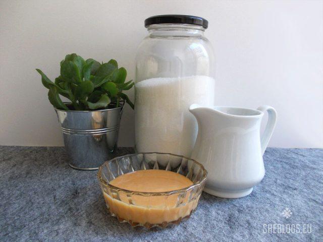 Φτιάξε σπιτικό ζαχαρούχο γάλα